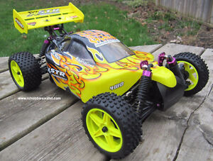 New RC Buggy/ Car 1/10 scale, Electric 4WD 2.4G  RTR Kingston Kingston Area image 5