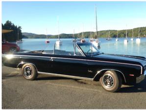 Olds Cutlass F85 1964 convertible