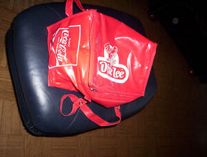 "Dixie Lee Coca - Cola red insulated cooler bag 13"" x 8"" x 8"""