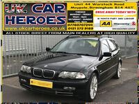 2001 BMW 330 3.0i AUTO SE TOURING ESTATE SPORTS 230 + 12 MONTH WARRANTY INCLUDED