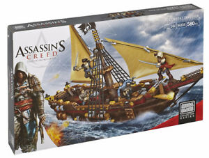 Brand new Mega Bloks Assassin's Creed Gunboat Takeover