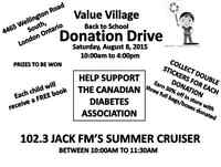 Value Village Back to School Donation Drive