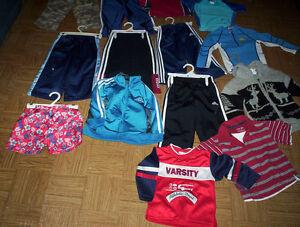 boy girl 3-6-12 M hoodie onesie 2/3/4/6T pants jackets Adidas &