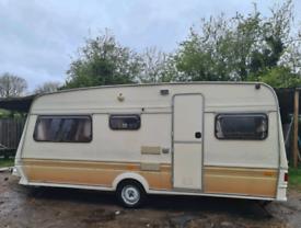 Fleetwood 17ft caravan