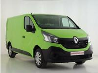 2017 Renault Trafic SL27 dCi 95 Business Van Euro 6 Diesel green Manual