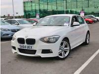 2014 BMW 1 Series 118d M Sport 5dr Step Auto Diesel Automatic