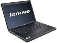LENOVO INTEL 3000 DUALCORE 4GB 250GB HDD DVD Windows 7 Laptop
