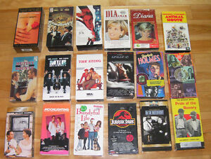 18 very entertaining VHS movies (Some are NEW)