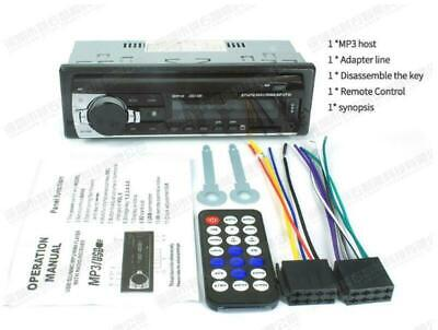 Radio Stereo Dash (Bluetooth Autoradios Auto Stereo Audio In-Dash 12V FM Radio USB SD JSD-520)