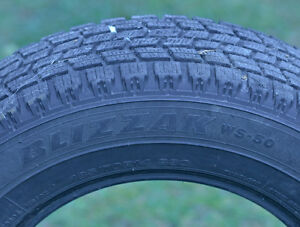 BRIDGESTONE BLIZZAKS! WINTER TIRES 185/70R14