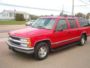 REDUCED TEXAS CHEVY SUBURBAN TRADES ACCEPTED