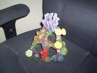 used fish tank faux coral reef