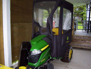 john deere lawn tractor series X500 22 hours in use run time