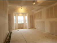 Experience in Drywall taping/mudding/plastering/stucco removal.