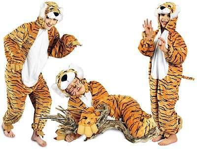 Tigerkostüm Löwe Löwen Lion Kostüm Overall Plüsch Tier Tiger Leopard Katze - Plüsch Tiger Kostüm
