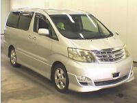 FRESH IMPORT 2005 FACE LIFT TOYOTA ALPHARD 3.0 VVTI PETROL AUTO ELECTRIC DOORS