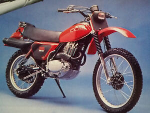 1979 Honda XR500  Cycle  magazine  review