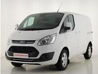2016 Ford Transit Custom 2.0 TDCi 130ps Low Roof Limited Van Diesel white Manual