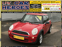 2005 MINI MINI ONE 1.6 -3 DR HATCHBACK + 12 MONTH WARRANTY INCLUDED