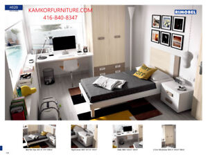 Children Hypoallergenic Bedroom Sets, Cabinets, Wall units.