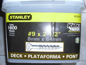 Stanley Deck Screws
