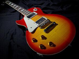 Gibson Epiphone Les Paul Standard ***Flamed Top  ***GAUCHÈRE