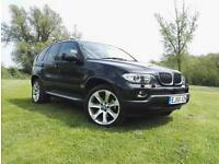 BMW X5 3.0d auto Sport BLACK ,BEIGE LEATHER TRIM PAN ROOF 1 OWNER FSH