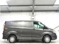 2017 FORD TRANSIT CUSTOM TREND METALLIC GREY SWB 2.0TDCi 290 L1H1 LOW MILEAGE