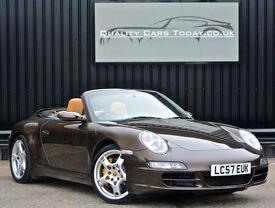 2008 Porsche 911 ( 997 ) 3.8 Carrera 4S Convertible Tiptronic + Ceramic Brakes