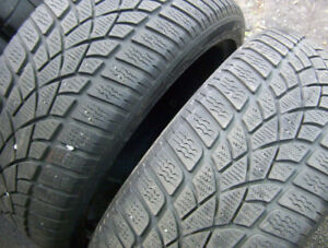 2 tires Dunlop SP Wintersport 3D 225/45 R 17 for sale