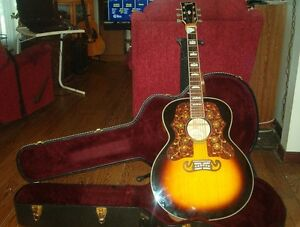 Gibsug J200 Sunburst acoustic electric guitar London Ontario image 3