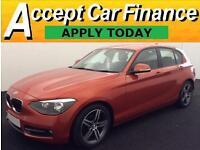 BMW 118 2.0TD auto 2012MY d Sport FROM £57 PER WEEK!