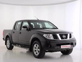 2009 Nissan Navara Double Cab Pick Up Acenta 2.5dCi 171 4WD Diesel black Manual