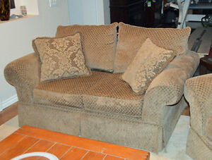 2 Matching Loveseat and Armchair. New Condition, Price Reduced!