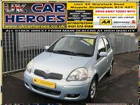 2005 TOYOTA YARIS 1.3 VVT-i T SPIRIT 5 DOOR H-BACK * 12 MONTH WARRANTY INCLUDED*