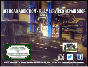 Off Road Addiction - Fully Serviced Repair Shop