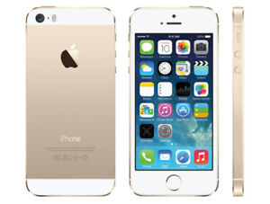 iPhone 5s 64 GB good condition unlocked white / gold