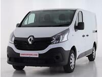 2017 Renault Trafic SL27 dCi 95 Business Van Euro 6 Diesel white Manual
