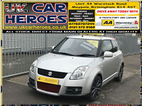 2008 SUZUKI SWIFT 1.6 VVTi SPORTS 3 DOOR + 12 MONTH WARRANTY INCLUDED