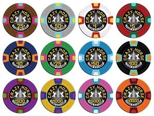 Poker Chips - Casino Clay Chips