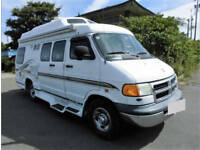 FRESH IMPORT 2003 DODGE RAM RV 190 LONG WHEEL BASE 4 BERTH CAMPER DAY VAN