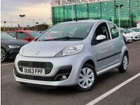 2013 Peugeot 107 1.0 Active 5dr Hatchback Petrol Manual