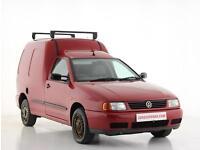 2004 Volkswagen Caddy 1.9 SDi Kombi Van Diesel red Manual
