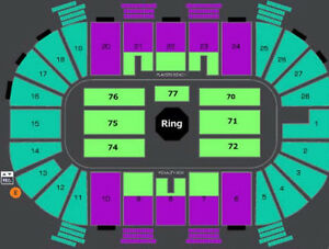 AMAZING UFC FLOOR / LB TICKETS FOR HALIFAX FIGHT NIGHT !!!
