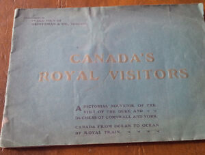 Canada's Royal Visitors, Ocean To Ocean By Royal Train 1901
