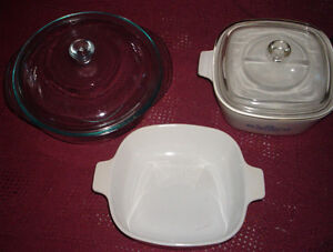 Corning ware and Pyrex dishes for sale Can Deliver!