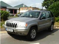 Jeep Grand Cherokee 4.0 Limited Station Wagon 4x4 5dr£3,000 LPG CONVERSION 2001