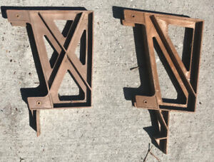 Deck Bench Bracket (used, lot of 11)