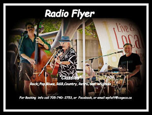 """Three piece band """"Radio Flyer"""" all Classics,for any Functions Peterborough Peterborough Area image 1"""