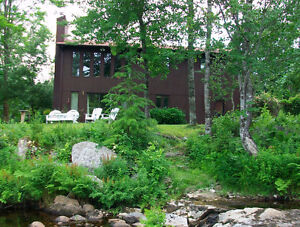 A PEACEFUL RIVERSIDE HOME ON THE UPPER LaHAVE. MAKE AN OFFER!